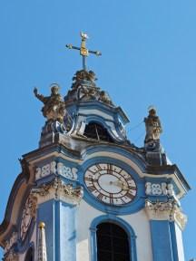 Clock on Dürnstein Quay