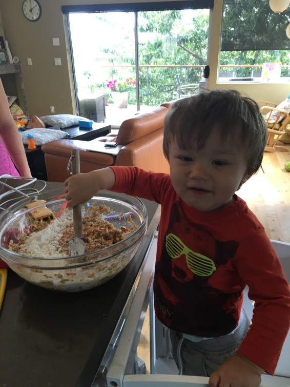 kid friendly oatmeal carrot parsnip muffin recipe