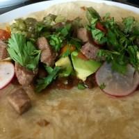 Beef Tacos de Lengua in the Pressure Cooker