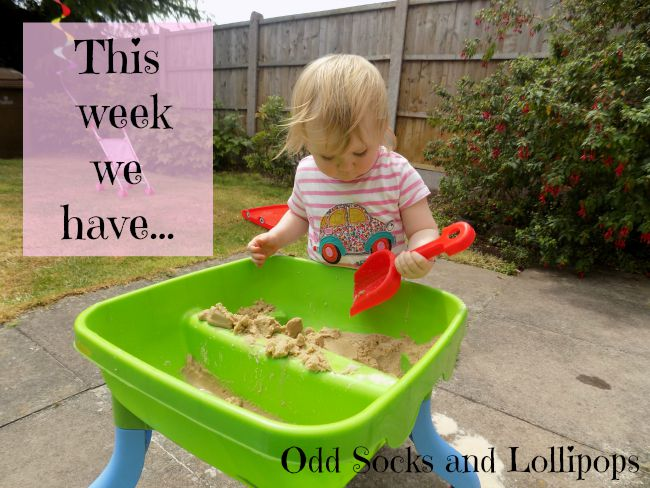This week we have ... sharing all the toddler fun Boo and I have got up to this past week - we have been very busy