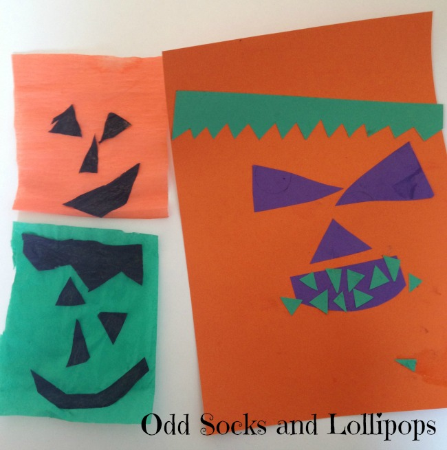 Halloween Crafts Faces