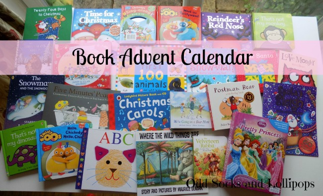Book Advent Calendar - sharing the Book Advent Calendar I have created for my toddler this year! Click to read the full links of books I have included