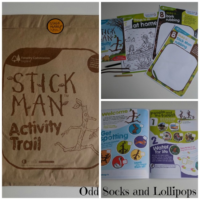 The Stick Man Trail - activity pack