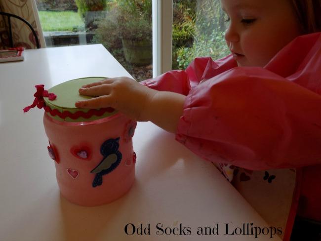 Valentine's Sweetie Jar Step 5