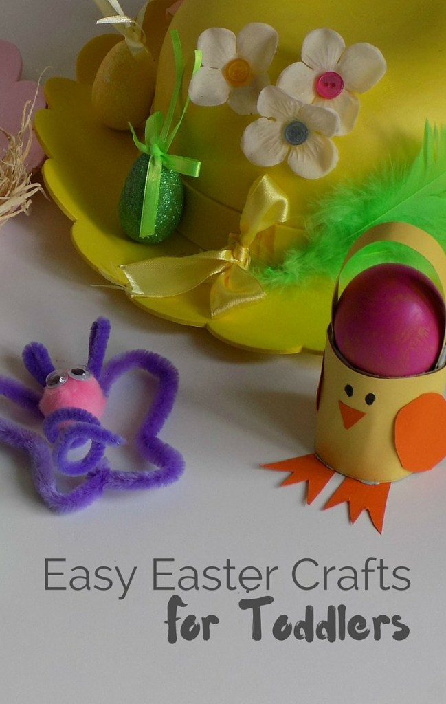Easy Easter Crafts sharing some of the crafts we have been up to as part of the #BostikBloggers 2016