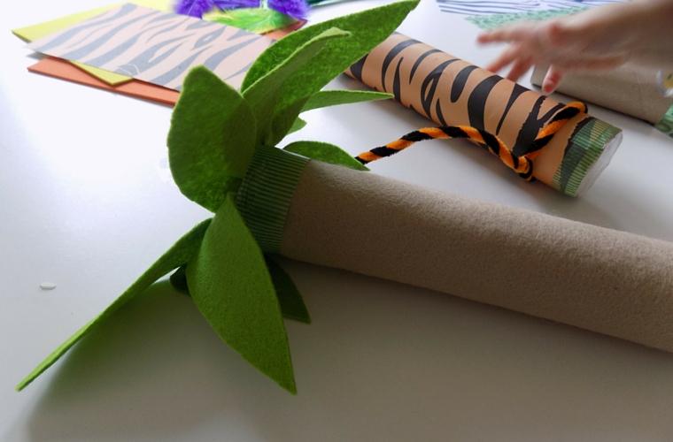 Jungle Themed Rainsticks - Tree Rainstick