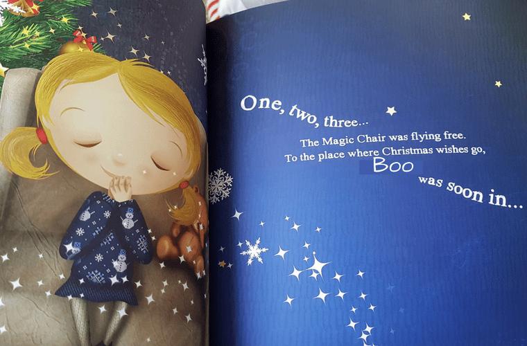 The Search for Santa, Boo's Book