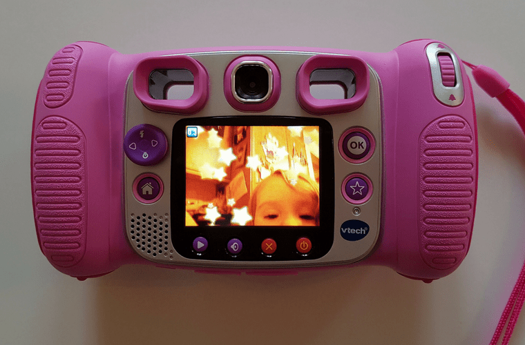VTech KidiZoom Duo Camera Back and Screen