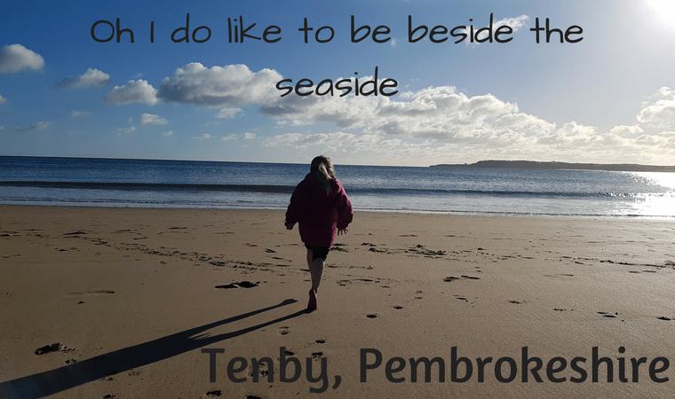 Tenby - Oh I do like to be beside the seaside - sky, sea and sand