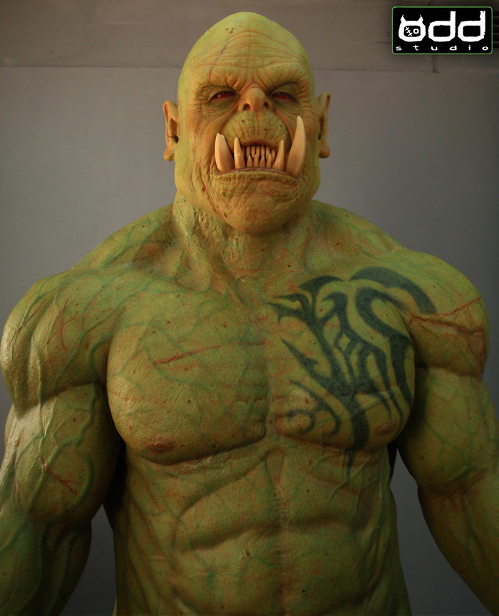 Odd Studio World Of Warcraft Orc