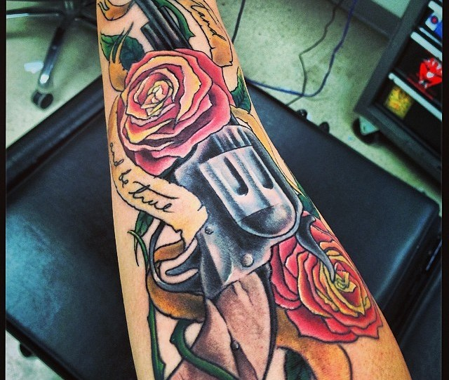 Dark Tower Arm Tattoo Now Color By Jei Boston Tattoo In Davis Sq