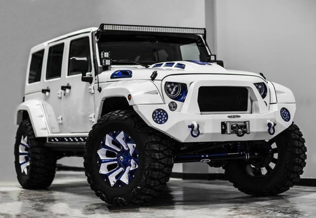 "The Jeep Wrangler ""Stormtrooper"" edition has to be the safest car on the market. You're guaranteed not to hit anything"