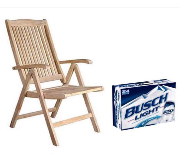 It's time to get that 25 piece patio set out