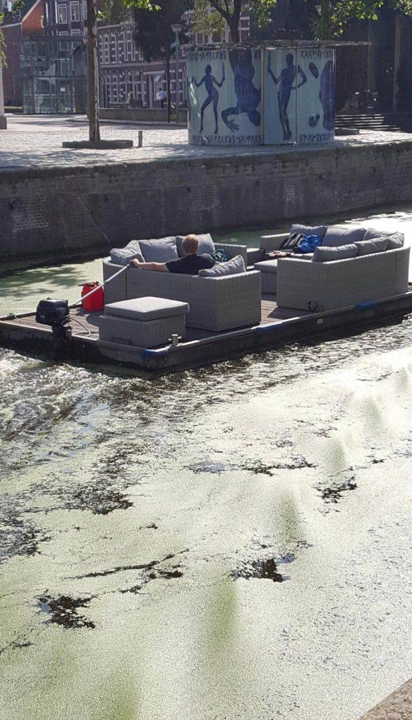 Relaxing boat