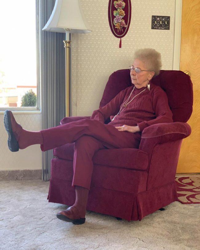 Sometimes we lose grandma