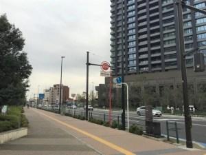 武蔵小杉駅周辺の道