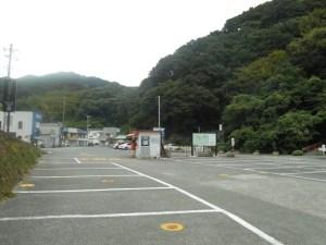 石廊崎灯台の駐車場