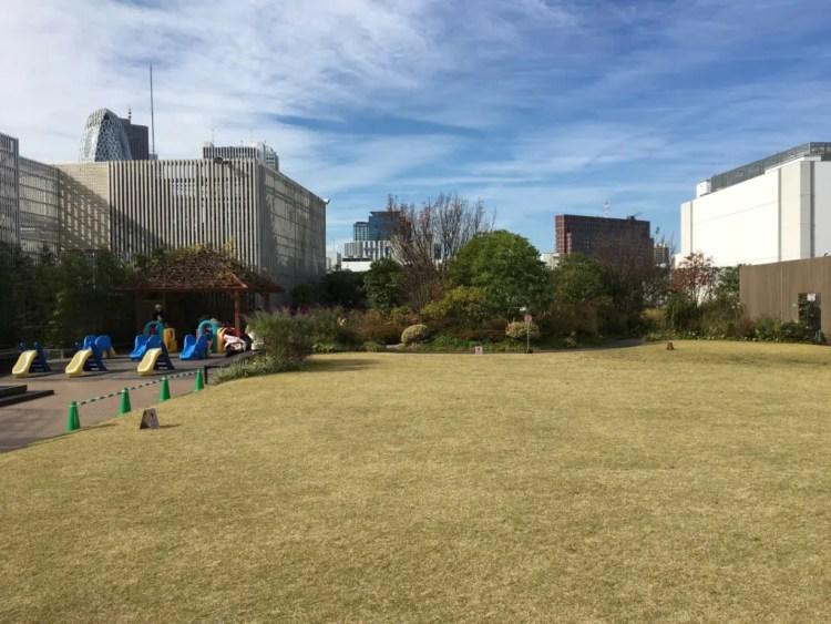 新宿伊勢丹の屋上庭園アイガーデン