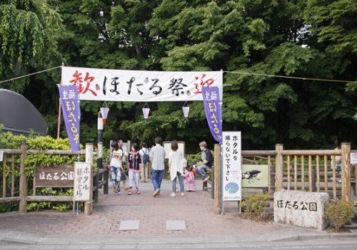 ほたる祭り東京福生市のほたるドームで6月18日に開催!