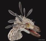 life restoraiton of velociraptor mongoliensis