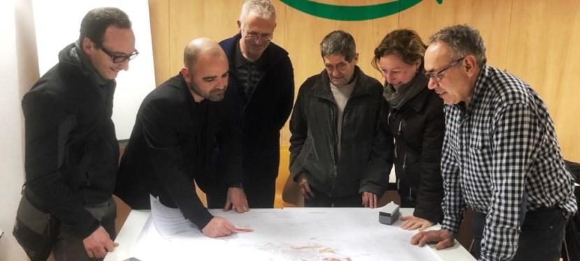 OAF Avancem ens reunim amb els representants d'Unió de Pagesos d'Òdena i amb l'associació Per la Conca