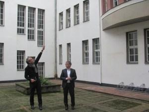 Sanierung Rathaus Innenhof