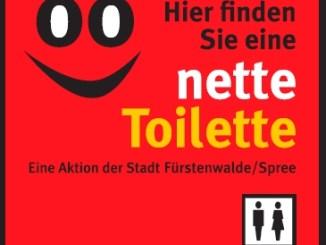 Nette Toilette in Fürstenwalde