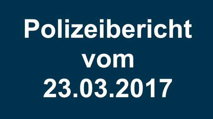 Polizeibericht fürstenwalde