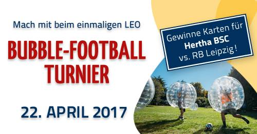 LEO-Bubble-Football-Turnier