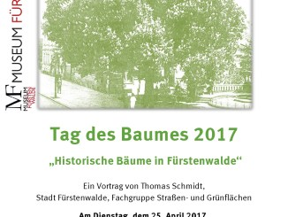 Vortrag am Tag des Baumes in Fürstenwalde