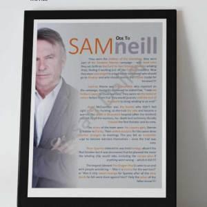 ode to Sam Neill