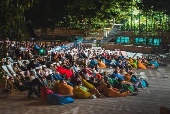 Открытый концерт в Зеленом театре