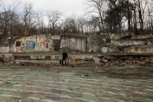 Зеленый театр до восстановления