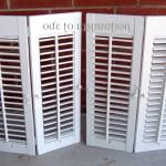 Build Interior Wood Shutters Plans Diy Pdf Woodworking Plans