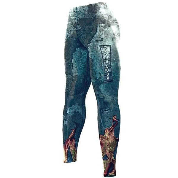 компрессионные штаны со своим логотипом