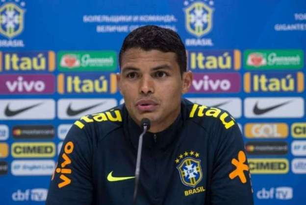 Thiago Silva deve ser titular da seleção brasileira