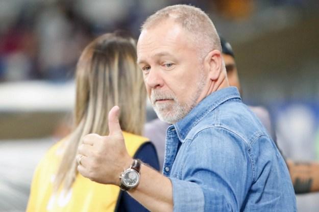 Mano Menezes sonha com classificação na semifinal da Libertadores - Felipe Correia/Parceiro/Photo Premium/Agência O Dia