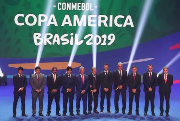 Copa América de 2019 será realizada no Brasil