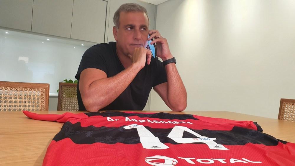 André Cury crê que Arrascaeta é o maior estrangeiro da história do Flamengo - Venê Casagrande / O Dia