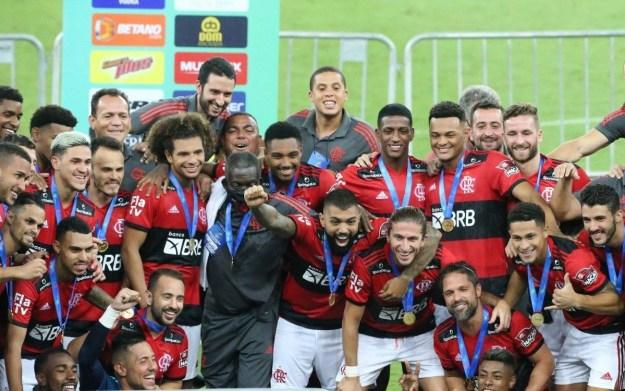 Flamengo x Volta Redonda pela 11 rodada do Campeonato Carioca 2021, no estádio do Maracanã.