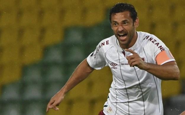 Fred vem sendo destaque do Fluminense nesta Libertadores