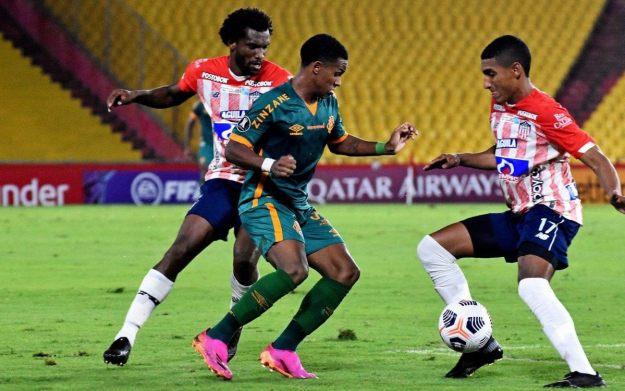 Bem marcado, Kayky mostrou oportunismo para empatar o jogo em Guayaquil