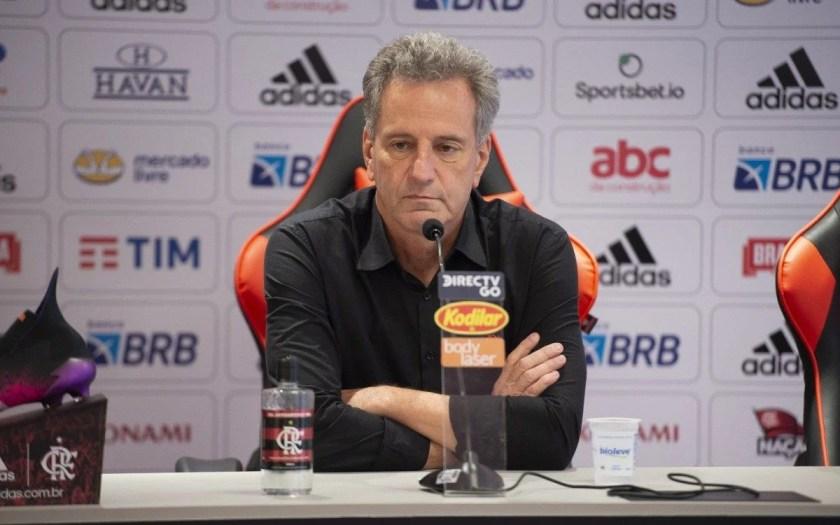 Rodolfo Landim, president of Flamengo