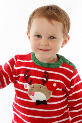little-boy-in-christmas-sweater