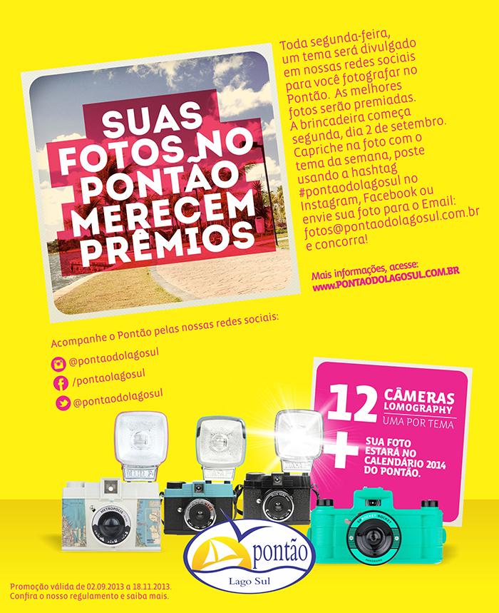 Promoção Suas fotos no Pontão merecem prêmios