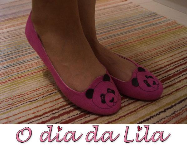 #lookdalila sapatilha panda