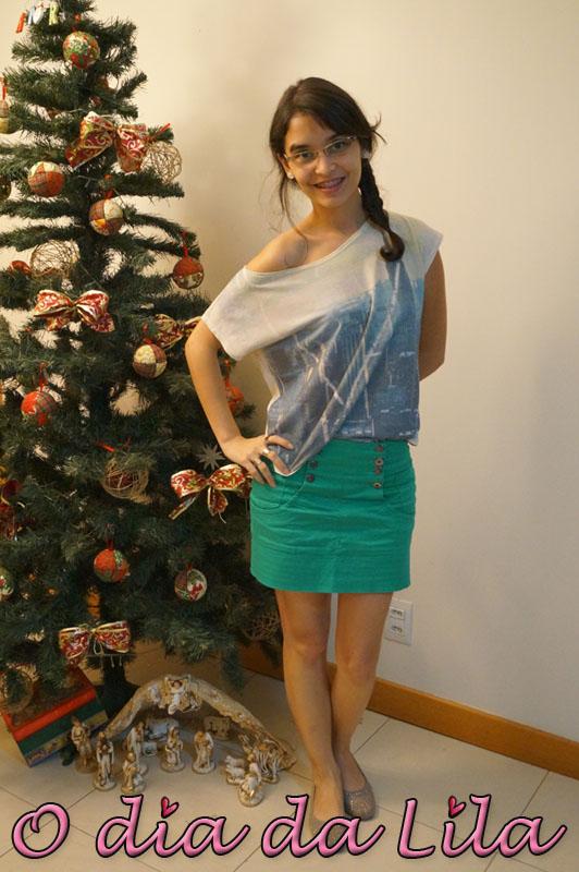 #lookdalila saia verde2