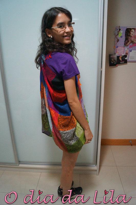 #lookdalila colete de lenço