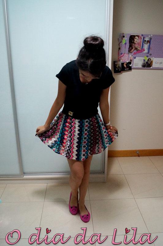 #lookdalila short-saia estampada4
