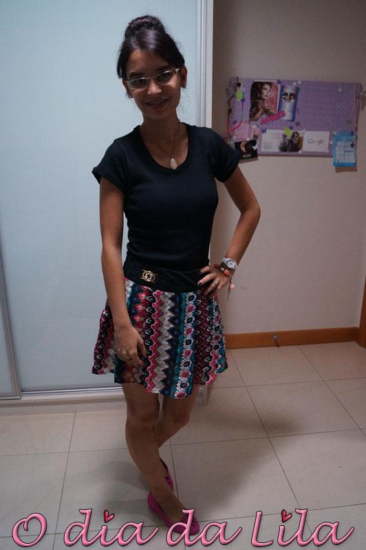 #lookdalila short-saia estampada5